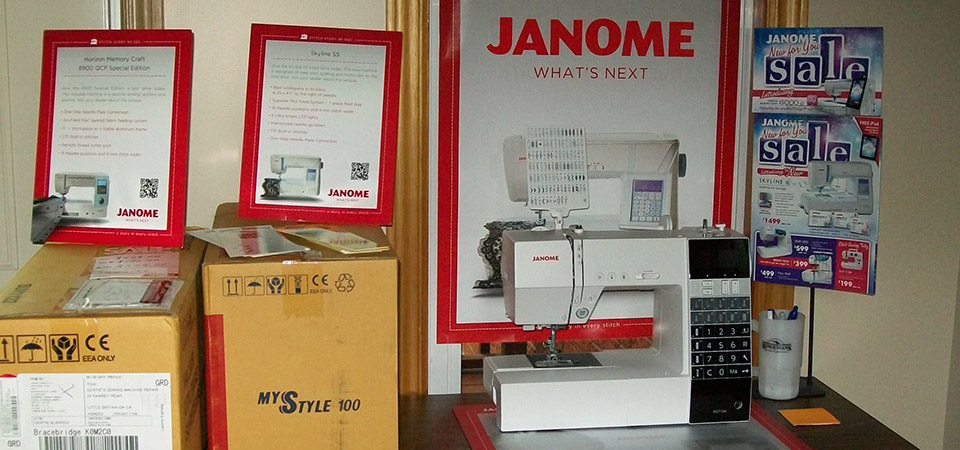 JanomeSewing Machine with table