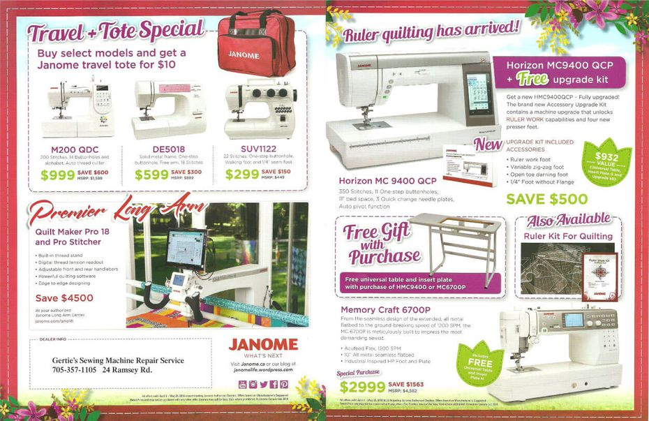 spring flyer page 3, 4