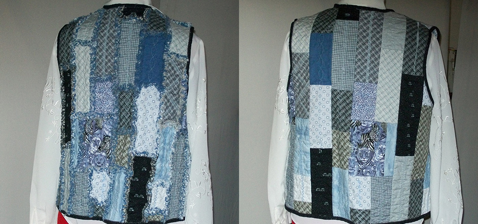 vest back before and after