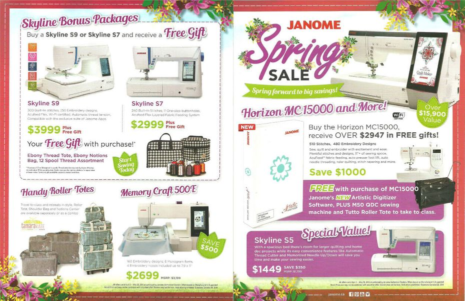 spring flyer page 1, 2